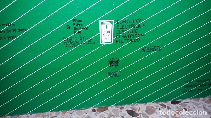 Juguetes antiguos Román: COCHE SALVAOBSTACULOS ROMAN BOMBEROS CON VOZ, JUGUETE ANTIGUO , COCHE ELECTRICO A PÌLAS - Foto 9 - 164859918
