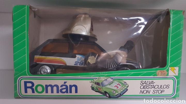 Juguetes antiguos Román: Coche Román Robot - Foto 3 - 178973330
