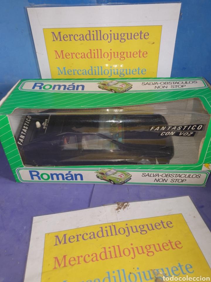 Juguetes antiguos Román: Coche fantástico - Foto 4 - 182096611