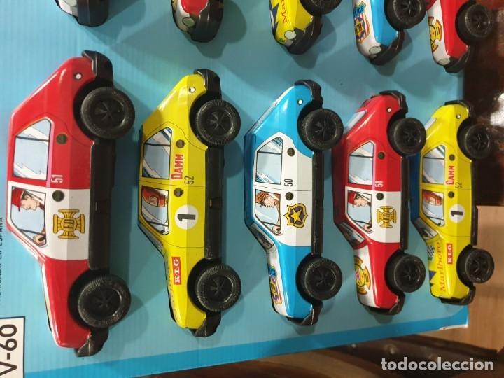 Juguetes antiguos Román: Coches friccion roman en blister original 10 coches nuevos sin usar - Foto 2 - 182512683