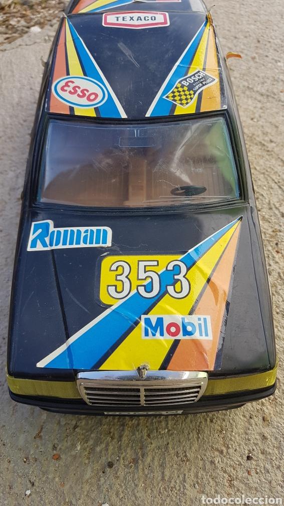 Juguetes antiguos Román: Coche Mercedes Román a pilas - Foto 3 - 182676281