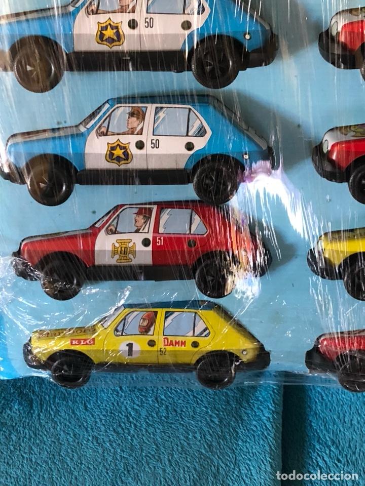 Juguetes antiguos Román: Blister con 10 coches de fricción ROMAN - Foto 3 - 184773582