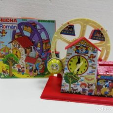 Brinquedos antigos Román: HUCHA NORIA METAL ROMÁN AÑOS 70-FUNCIONA- ALMACÉN . Lote 192106806