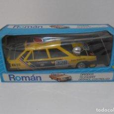 Brinquedos antigos Román: COCHE RENAULT 11 CABLE DIRIGIDO, ROMAN, NUEVO DE JUGUETERIA, AÑOS 80. Lote 197610520