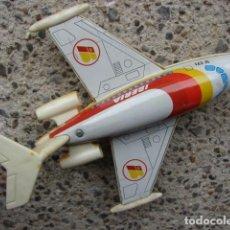 Brinquedos antigos Román: AVIÓN JET IBERIA - ROMÁN . Lote 198094405