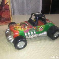 Juguetes antiguos Román: JUNGLE CAR CHAPA Y PLASTICO DE ROMAN A PILAS MIREN FOTOS. Lote 203963081