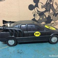 Juguetes antiguos Román: COCHE BAT CAR MARCA ROMAN BATMAN BAT MAN PULSANDO EL BOTON HABLO JUGUETES MADE IN SPAIN. Lote 210318486
