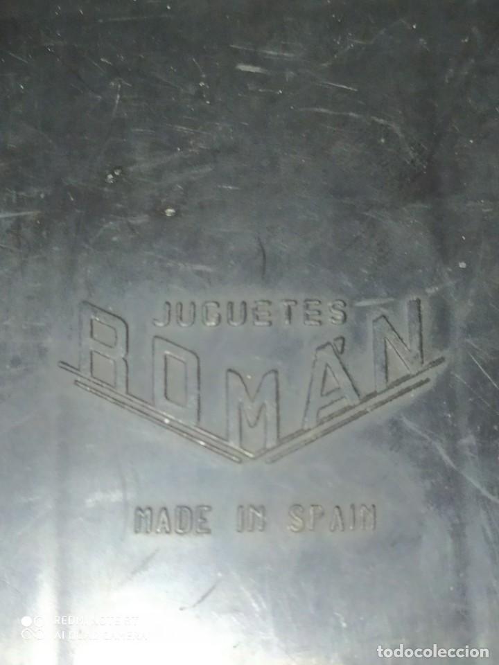 Juguetes antiguos Román: Coche Carreras Hojalata . JUGUETES ROMAN MADE IN SPAIN - Foto 4 - 215928936
