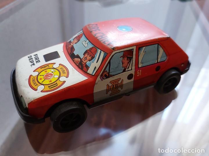 COCHE DE BOMBEROS FIRE CHIEF SERIE 51- ROMÁN (Juguetes - Marcas Clásicas - Román)