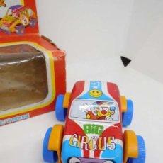 Juguetes antiguos Román: COCHE HOJALATA Y PLASTICO BABY CAR ROMAN. Lote 12768939