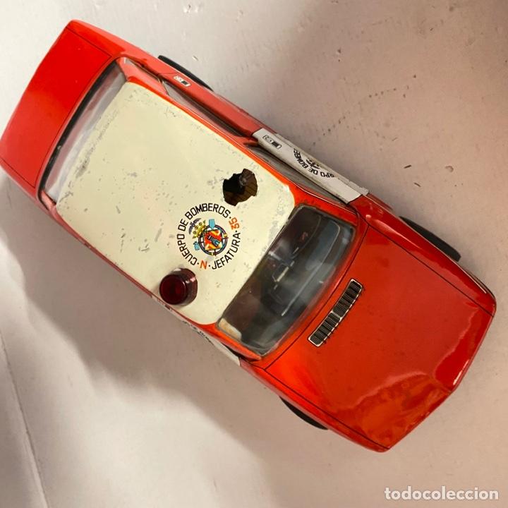 Juguetes antiguos Román: Antiguo coche salva obstáculos juguetes Román cuerpo de bomberos Jefatura 35 va a pilas - Foto 7 - 278395528