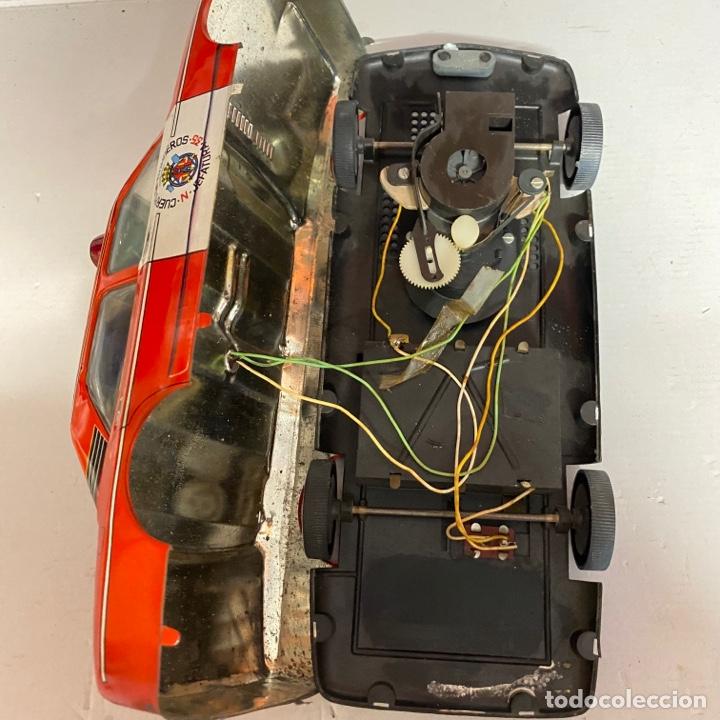 Juguetes antiguos Román: Antiguo coche salva obstáculos juguetes Román cuerpo de bomberos Jefatura 35 va a pilas - Foto 11 - 278395528
