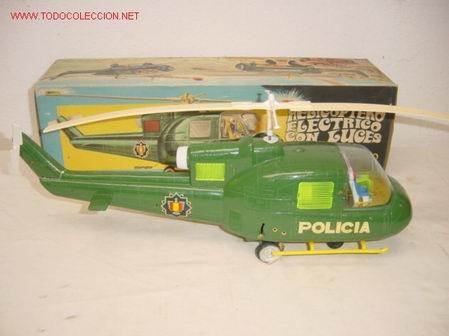 HELICÓPTERO POLICÍA JYESA (Juguetes - Marcas Clásicas - Sanchís)