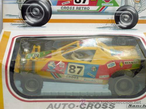 Juguetes antiguos Sanchís: Auto-cross Auto cross Sanchís con caja años 80 coche eléctrico - Foto 2 - 9307008