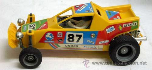 Juguetes antiguos Sanchís: Auto-cross Auto cross Sanchís con caja años 80 coche eléctrico - Foto 3 - 9307008