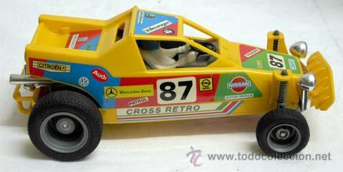 Juguetes antiguos Sanchís: Auto-cross Auto cross Sanchís con caja años 80 coche eléctrico - Foto 4 - 9307008