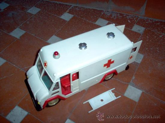 Juguetes antiguos Sanchís: Ambulancia COMMER de Sanchis - Foto 3 - 26415279