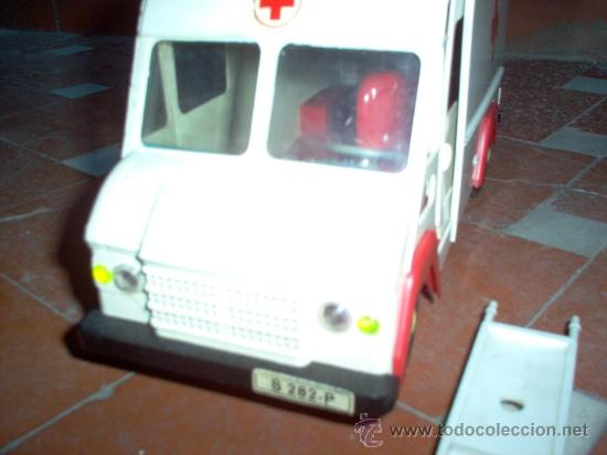 Juguetes antiguos Sanchís: Ambulancia COMMER de Sanchis - Foto 7 - 26415279