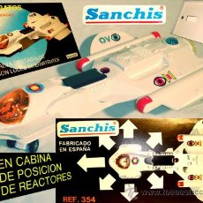 Juguetes antiguos Sanchís: SANCHIS UFO SPACE OVNI ESTRATOS NONSTOP + LUCES IMPECABLE 70'S. Lote 17045770