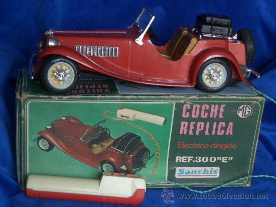 COCHE MG TELEDIRIGIDO MOD. 300E DE SANCHIS (Juguetes - Marcas Clásicas - Sanchís)
