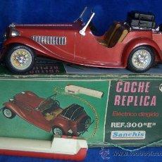 Juguetes antiguos Sanchís: COCHE MG TELEDIRIGIDO MOD. 300E DE SANCHIS. Lote 22145958