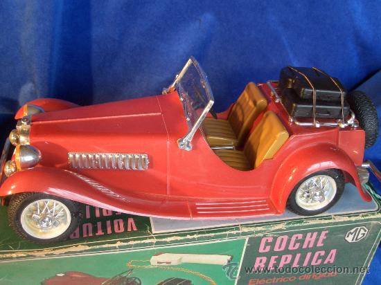 Juguetes antiguos Sanchís: COCHE MG TELEDIRIGIDO MOD. 300E DE SANCHIS - Foto 5 - 22145958
