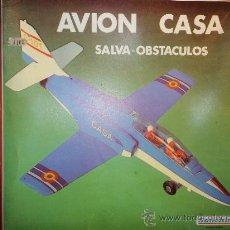 Juguetes antiguos Sanchís: AVION CASA EJERCITO DEL AIRE ESPAÑOL, SALVA-OBSTACULOS, MARCA SANCHIS, REF. 370.-. Lote 27179438