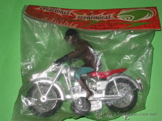 Juguetes antiguos Sanchís: MOTO DE SANCHIS-JUGUETE Nº140 - Foto 2 - 26642504