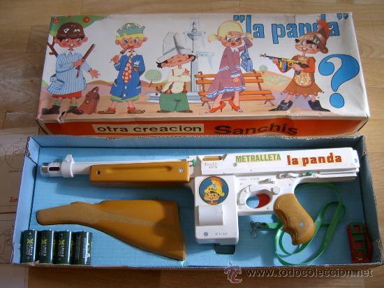 METRALLETA LA PANDA - JUGUETE SANCHIS Nº 117 - FINALES DE 1960/PRINCIPIOS DE 1970 (Juguetes - Marcas Clásicas - Sanchís)