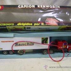Juguetes antiguos Sanchís - Camión Kenworth de Sanchís. Con caja. - 27872306