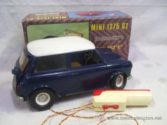 MINI 1275 GT. REF. 262 E. FABRICADO POR SANCHÍS. CON CAJA. (Juguetes - Marcas Clásicas - Sanchís)