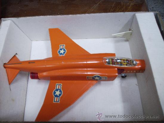 Juguetes antiguos Sanchís: avion phantom 2 nuevo en caja - Foto 2 - 29105867
