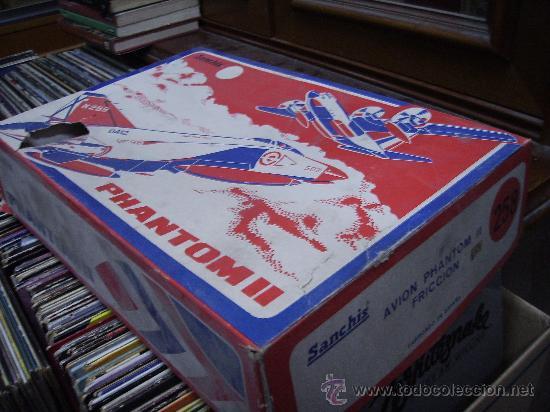 Juguetes antiguos Sanchís: avion phantom 2 nuevo en caja - Foto 4 - 29105867