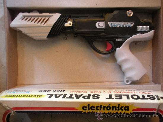 Juguetes antiguos Sanchís: pistola espacial sanchis - Foto 2 - 29225331