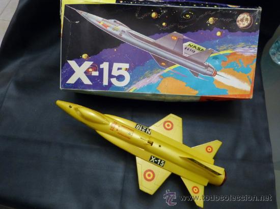 SANCHÍS AVIÓN X-15 NASA (Juguetes - Marcas Clásicas - Sanchís)