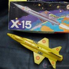 Juguetes antiguos Sanchís: SANCHÍS AVIÓN X-15 NASA. Lote 35375186