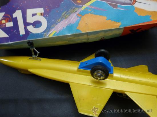 Juguetes antiguos Sanchís: Sanchís avión x-15 Nasa - Foto 2 - 35375186