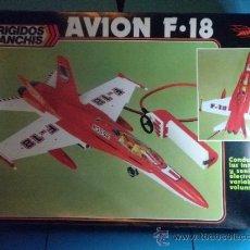 Juguetes antiguos Sanchís: AVION F-18 CABLE MANDO DIRIGIDOS DE SANCHIS. Lote 35605139