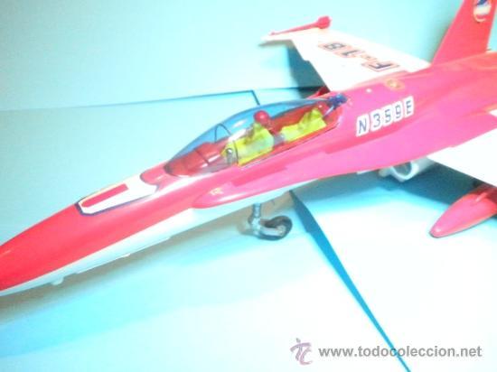 Juguetes antiguos Sanchís: AVION F-18 CABLE MANDO DIRIGIDOS DE SANCHIS - Foto 2 - 35605139