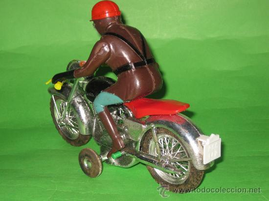 Juguetes antiguos Sanchís: MOTO DE SANCHIS-JUGUETE Nº142 EN CAJA ORIGINAL - Foto 5 - 36228751