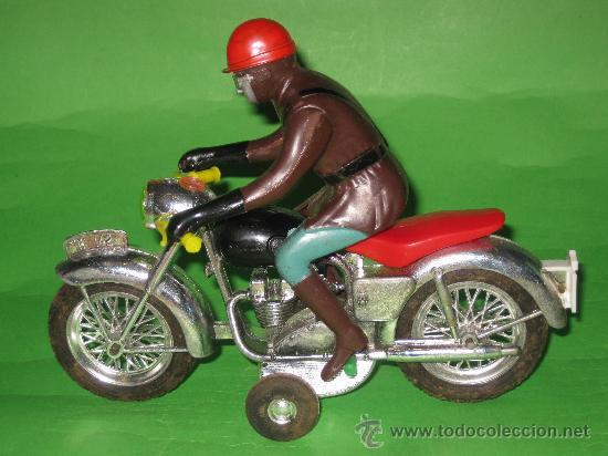 Juguetes antiguos Sanchís: MOTO DE SANCHIS-JUGUETE Nº142 EN CAJA ORIGINAL - Foto 6 - 36228751