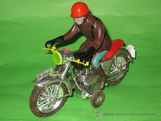 Juguetes antiguos Sanchís: MOTO DE SANCHIS-JUGUETE Nº142 EN CAJA ORIGINAL - Foto 7 - 36228751