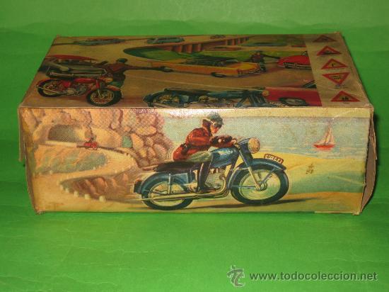 Juguetes antiguos Sanchís: MOTO DE SANCHIS-JUGUETE Nº142 EN CAJA ORIGINAL - Foto 13 - 36228751