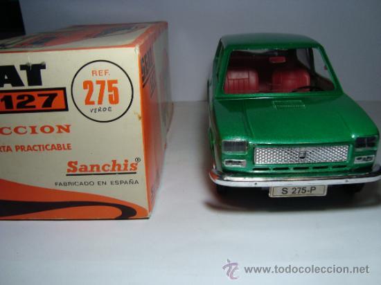 Juguetes antiguos Sanchís: SEAT 127 DE SANCHIS.NUEVO CON CAJA MUY BUENO . - Foto 5 - 26903406