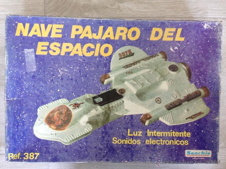 NAVE PAJARO DEL ESPACIO - SANCHIS AÑOS 80 (Juguetes - Marcas Clásicas - Sanchís)