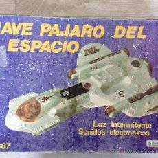 Juguetes antiguos Sanchís: NAVE PAJARO DEL ESPACIO - SANCHIS AÑOS 80. Lote 40095240