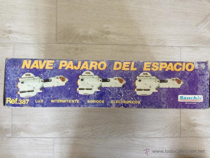 Juguetes antiguos Sanchís: NAVE PAJARO DEL ESPACIO - SANCHIS AÑOS 80 - Foto 2 - 40095240