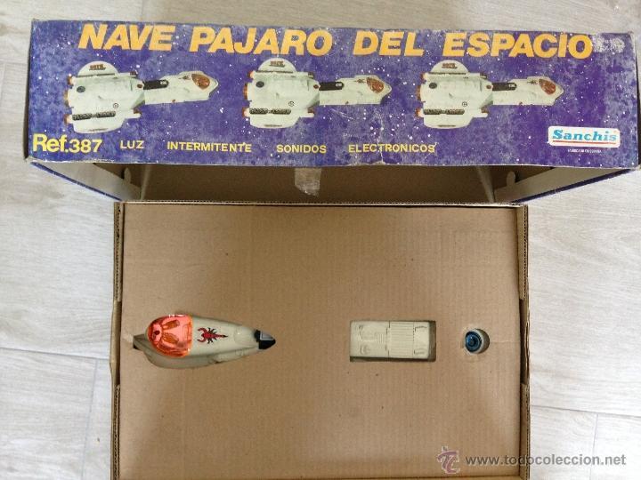 Juguetes antiguos Sanchís: NAVE PAJARO DEL ESPACIO - SANCHIS AÑOS 80 - Foto 4 - 40095240