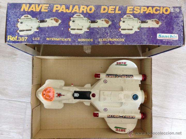Juguetes antiguos Sanchís: NAVE PAJARO DEL ESPACIO - SANCHIS AÑOS 80 - Foto 5 - 40095240