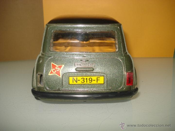 Juguetes antiguos Sanchís: Antiguo y Precioso MINI 1275 GT RALLY a Fricción de Juguetes SANCHIS de IBI . Año 1960s. - Foto 2 - 40298554